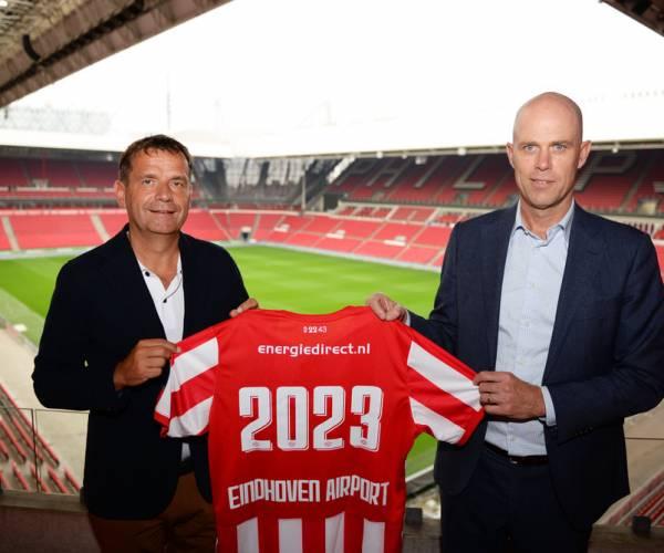 Partnership Eindhoven Airport en PSV verlengd en uitgebreid