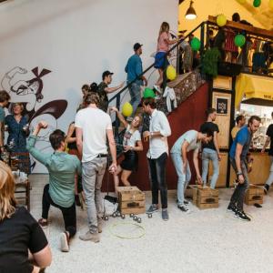 Mooie Boules Eindhoven verzet feestelijke opening