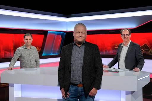 Foto links: Maarten van den Boom, directeur ZuidWestTV. Midden: Henk Lemckert, directeur Omroep Brabant. Rechts: Michiel Bosgra, directeur Studio040.