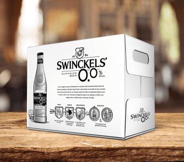 Swinkels Family Brewers komt versneld met Swinckels' 0.0%