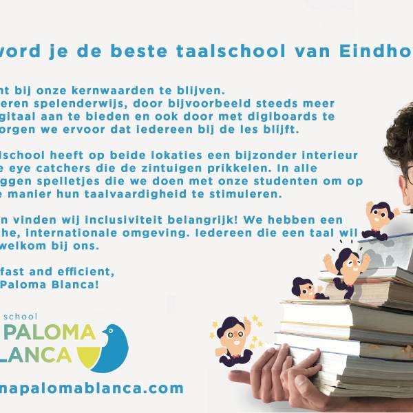 Eindhovens BESTE Taalschool - Una Paloma Blanca