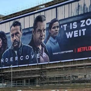 Frank Lammers op gigantisch billboard