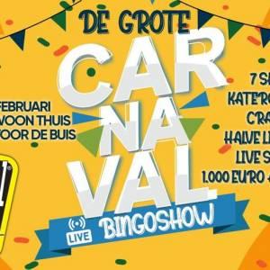 Brabantse horeca slaat handen ineen met Flügel voor Grote Carnaval Bingoshow