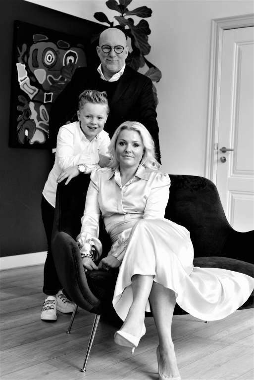 Jeff, Floris en Sabrina Borrenbergs