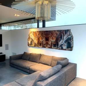 Hedendaagse kunst die een impact maakt in uw interieur