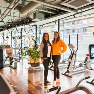 Essink City Gym:<br />uitstraling van een luxe boutique club, met de gemoedelijkheid <br />van een buurtsportschool