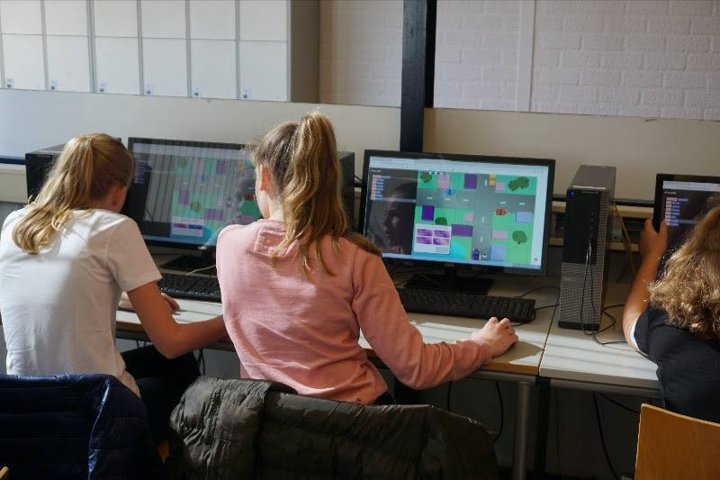 Leerlingen digitale geletterdheid aan de slag met een CodeSkillz-game