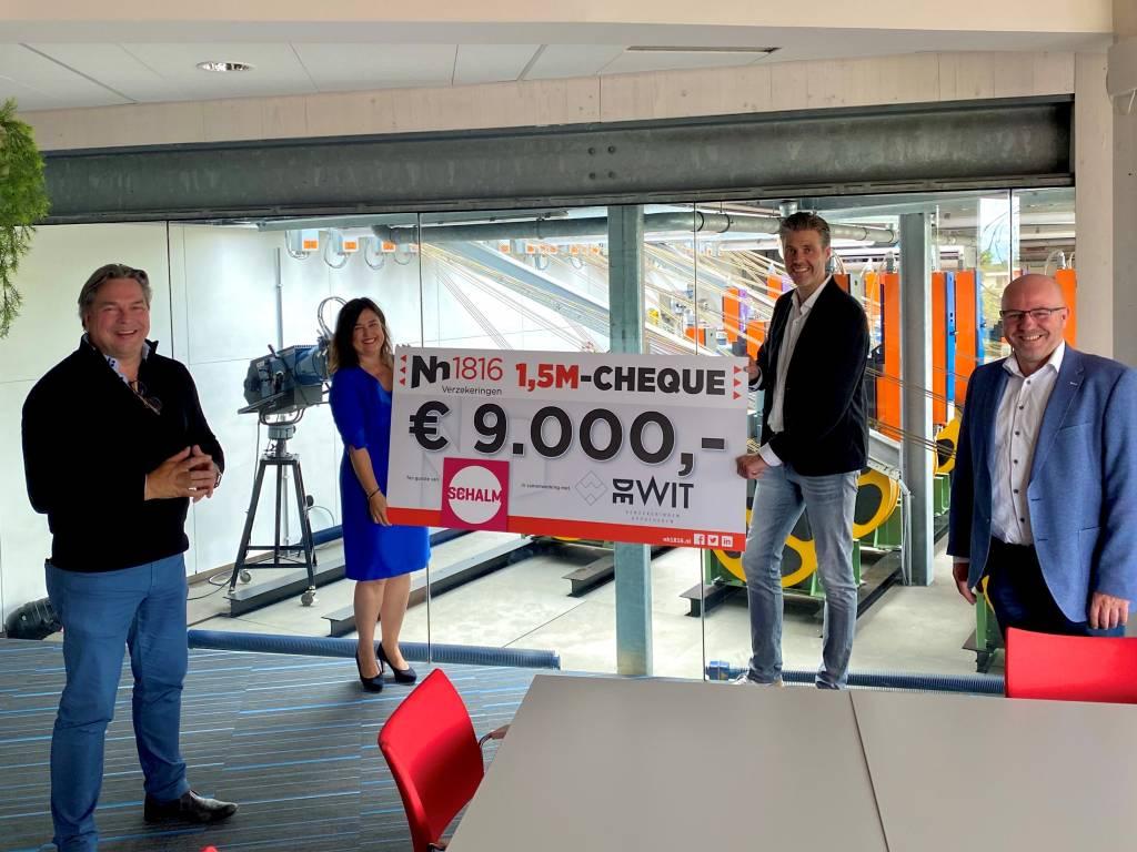 9000 euro voor de Schalm