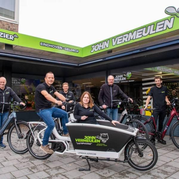 John Vermeulen Fietsplezier heeft meer dan 1000 fietsen op voorraad!