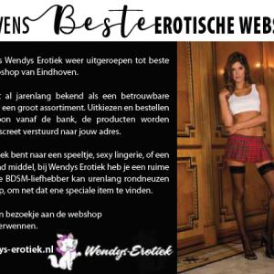 Eindhovens BESTE Erotische webshop - Wendys Erotiek