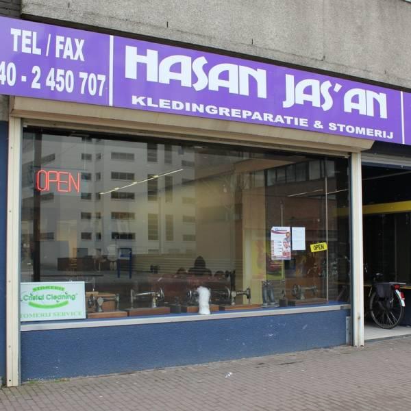 Hasan Jas'an, voor uw perfect gestoomde kleding en reparaties!